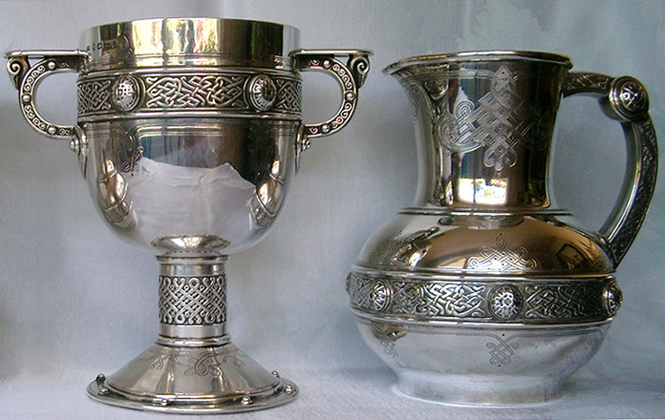Elkington Flagon and Chalice